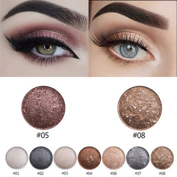 2016 New Smoky Eyeshadow Planet Art Eye Shadow Anti-blooming High Quality Eye Shadow Palette 0.28oz/8g [8833573324]