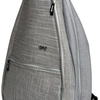 Silver Lining Tennis Backpack Bag
