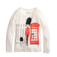 crewcuts Girls Long-Sleeve Olive In London Tee