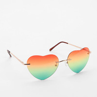 Urban Outfitters - Melting Hearts Sunglasses