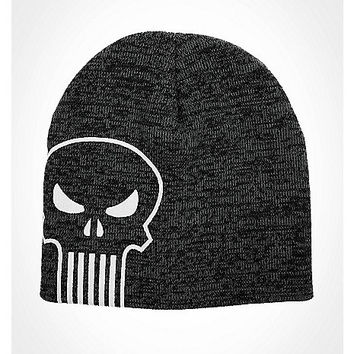 Punisher Side Logo Beanie - Spencer's
