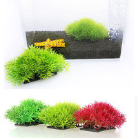 Aquarium Plastic Grass Water Plants Landscaping Ornament Fish Tank Decoration