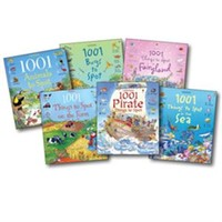 Usborne Books & More. 1001 Things to Spot Library Collection (6)
