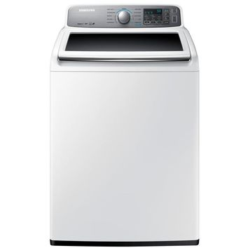 Samsung 4.8 cu. ft. High-Efficiency Top Load Washer in White, ENERGY STAR-WA48H7400AW - The Home Depot