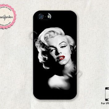 Marilyn Monroe iPhone 5 Case, iPhone 5s Case, iPhone Case, iPhone Hard Case, iPhone 5 Cover, iPhone 5s Cover
