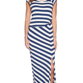 Ella Moss Barbara Maxi Dress in Blue