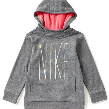 Nike Little Girls 2T-6X Therma Pullover Hoodie | Dillards