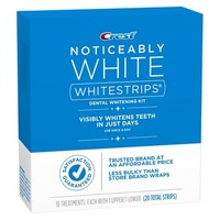 Crest® Noticeably White Whitestrips® Dental Whitening Kit - 20 Strips