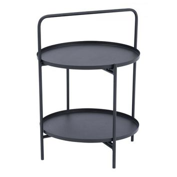 A11541 Leve End Table Black