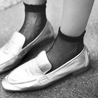 Free People Fishnet Socks