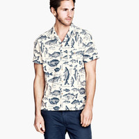 Patterned Shirt - from H&M