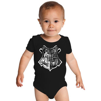 Harry Potter Hogwarts Baby Onesuits