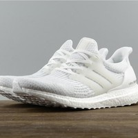 """Adidas Ultra Boost  """"Triple White 3.0"""" shoes"""