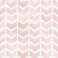 Rose Chevron Removable Wallpaper