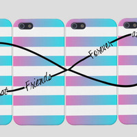 Best Friends Infinity iPhone Case -Infinity Best Friends Iphone Case, Four Case Set,  Best Friends Forever And Ever