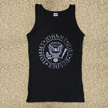 Ramones Johnny for Tank Top Mens and Tank Top Girls