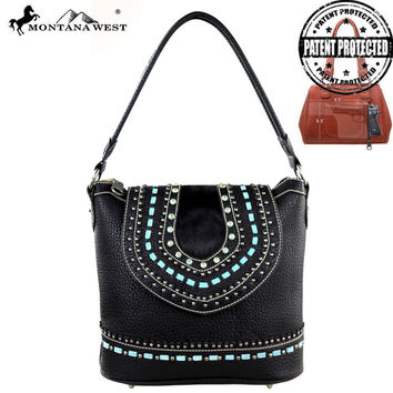 Montana West MW161G-916 Concealed Carry Handbag
