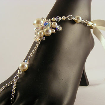 JESSICA Barefoot Sandals Medium by Passionflower Jewellery Designs