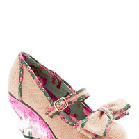 Irregular Choice Fare Theater Well Wedge