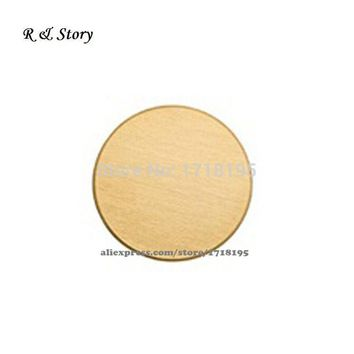 Stainless Steel Blank Back Plate / Backplate for Floating, Memory, Living Locket Jewelry LFP_039