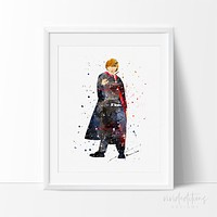Ronald Weasley, Harry Potter Art Print Poster
