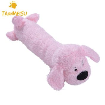 Plush Pet Dog Toys Stuffed Squeaking Animals Doggie Puppy Playing Sound Toy for Dogs Pets Chew Chewing Toy toys for large dog