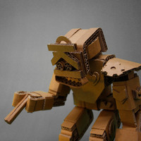 Cardboard Articulated Robot