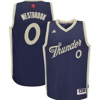 adidas Men's Oklahoma City Thunder Russell Westbrook #0 Christmas Day Swingman Jersey | DICK'S Sporting Goods