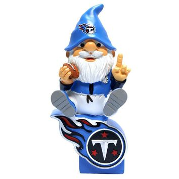Tennessee Titans NFL Gnome On Team Logo