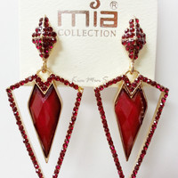 Go Natural 24/7 Earring -Egyptian Ruby Tux