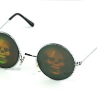 Holographic Skull - Party Glasses