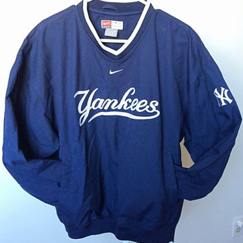 Authentic NY Yankees/Nike Team Windbreaker Pullover