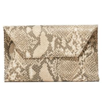 Metallic Cleo Clutch