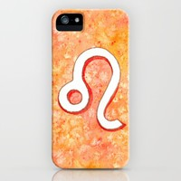 Zodiac sign : Leo iPhone & iPod Case by Savousepate