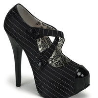 5.75 Inch Criss Cross Pump < Sexy Shoes | Flirt Catalog