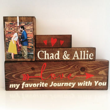 Wood stain sign wedding gift home wall decor art for home Personalized Wedding gift for couple Bridal Shower Gift | Rustic Wedding Decor |