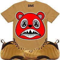 ANGRY BAWS Wheat Shirt - Wheat Foamposites