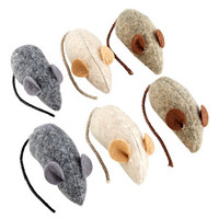 National Geographic™ Wooly Mice Cat Toy