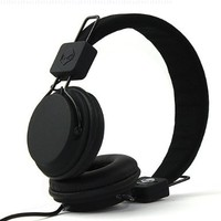 Subjekt TNT-QM1250 TNT Headphones with Microphone - Retail Packaging - Black