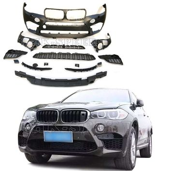 PP Car Body Kits Bumper for BMW X6 2014 2015 2016