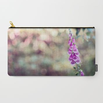 Foxglove Carry-All Pouch by Kristopher Winter