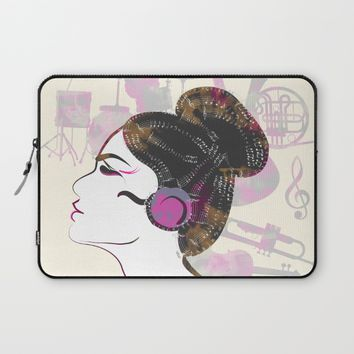 Music Overdose Laptop Sleeve by Famenxt | Society6