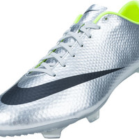 Nike Mercurial Veloce FG Soccer Cleats - Metallic Silver with Volt - SoccerMaster.com