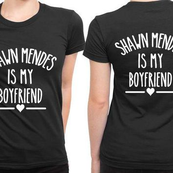 LMF1GW Shawn Mendes Is My Boyfriend So Much B 2 Sided Womens T Shirt