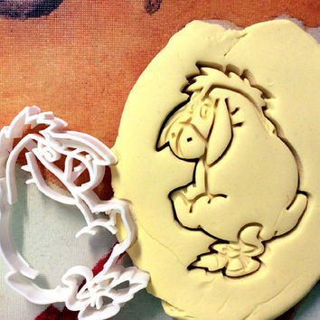 Eeyore Cookie Cutter great for cutting Bread, Cheese, Soft fruit and more Winnie the Pooh