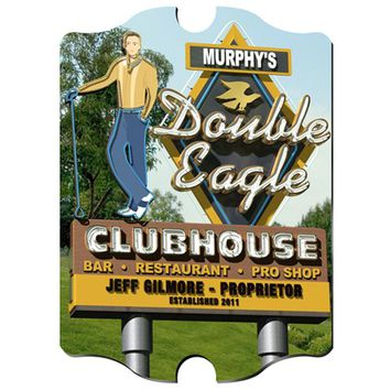 Marquee Vintage Sign - Double Eagle