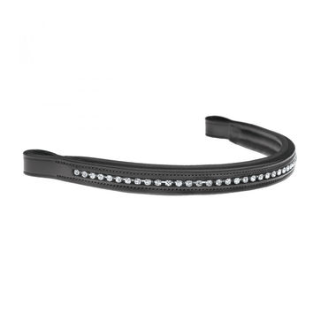 Ovation Oakbark Silver Crystals Browband