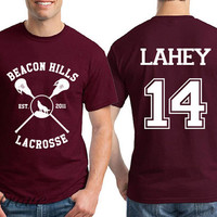 Lahey 14 Beacon Hills Lacrosse Teen Wolf Unisex Shirt - RT22