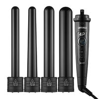 4P Interchangeable Barrel Curler Set - amika | Sephora