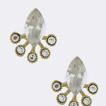 Crystal Pave Ear Jackets